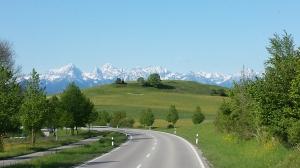 Bavarian Alps, Germany May 2014