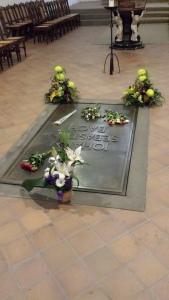 JS Bach Tomb, St Thomas Church, Leipzig